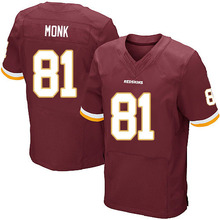 Men's #81 Art Monk Elite Burgundy Red Team Color Football Jersey 100% Stitched(China (Mainland))