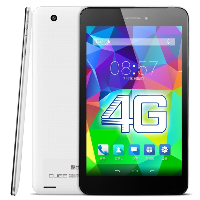 Original Cube T7 / T7GT MTK8752 Octa Core 2.0GHz 2GB+16GB 7.0 1920 x 1200 QHD IPS Screen Android 4.4.4 4G Phone Call Tablet PC<br><br>Aliexpress