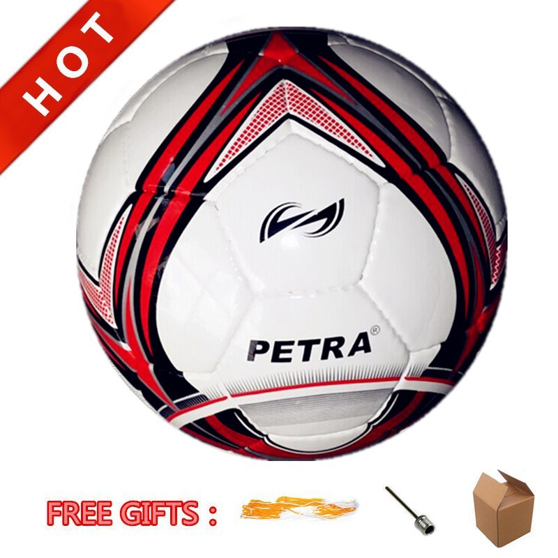 New Arrival! Professional Official Size 5# Shiny PU Hand Stitched Match Ball Soccer Ball Football With 32 Panels Latex Bladder(China (Mainland))