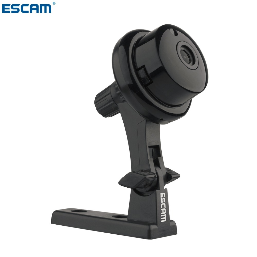 ESCAM Q6 1.0MP Button MINI Camera support WIFI,Two-way voice built-in TF Card Slot,Night Vision Home Security IP Camera(China (Mainland))