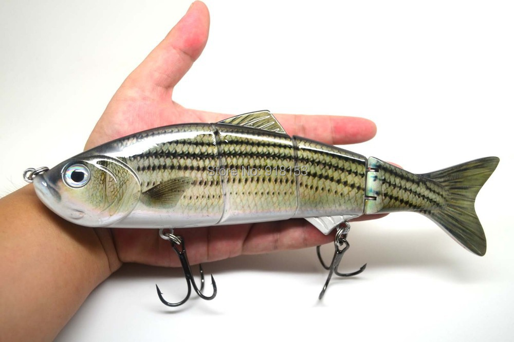 Popular big bass bait buy cheap big bass bait lots from for Striper fish bait