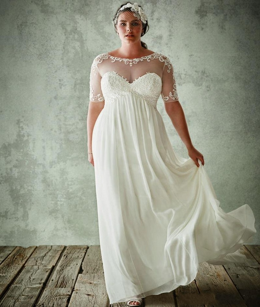Popular modest maternity wedding dresses buy cheap modest for Plus size maternity wedding dresses