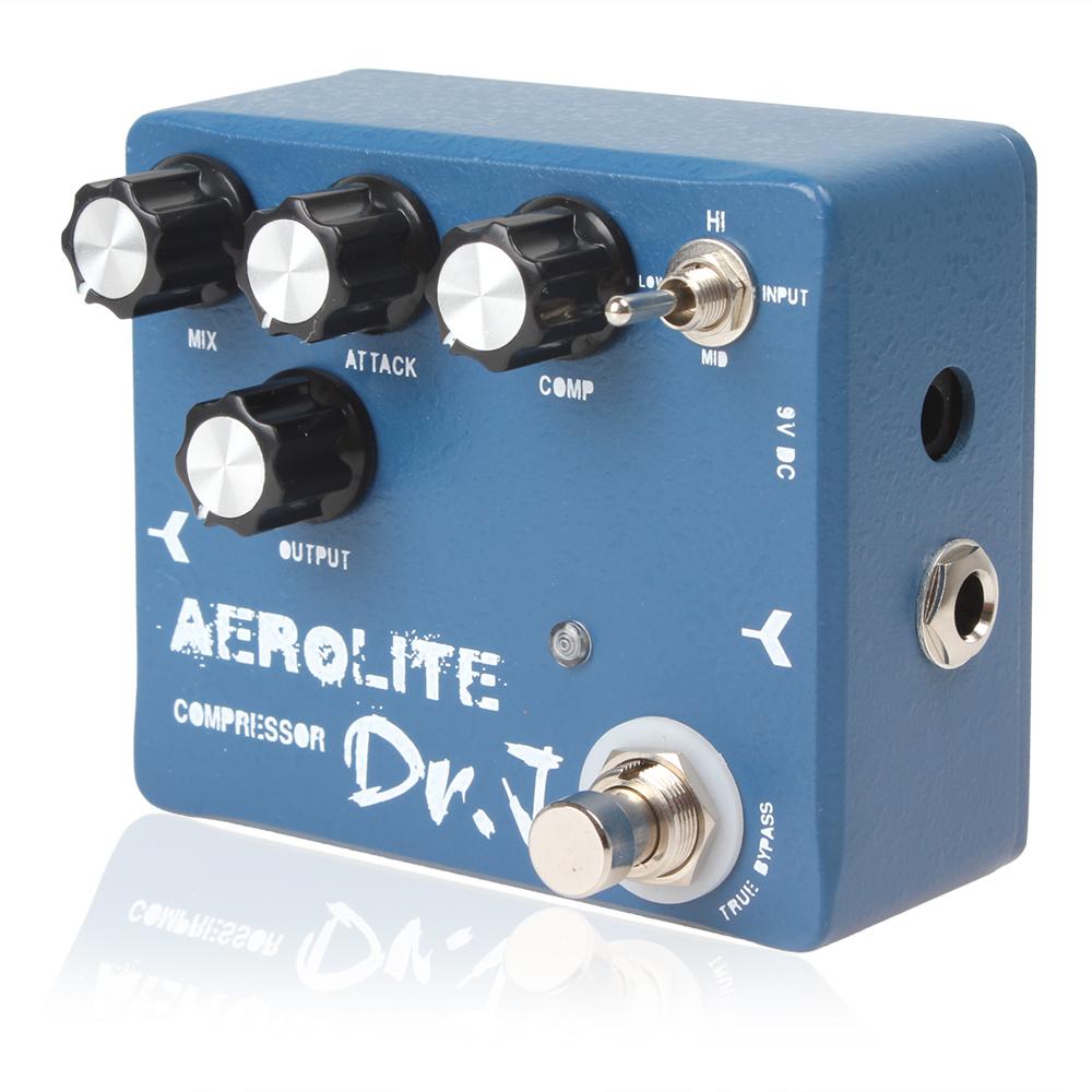 Joyo Dr.J D-55 Aerolite Compression Electric Guitar Effect Pedal True Bypass with Aluminum Alloy Housing