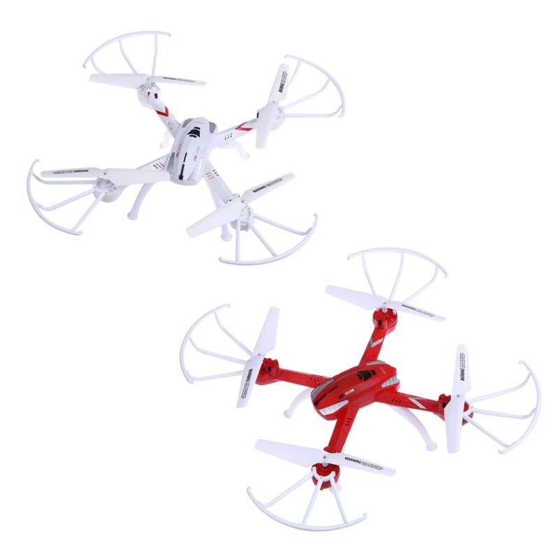2.4G 4CH Four Axis Gyro RTF RC Quadcopter Mini Waterproof Drone Distant Management Helicopter with Headless Mode for Children Audlts FCI#
