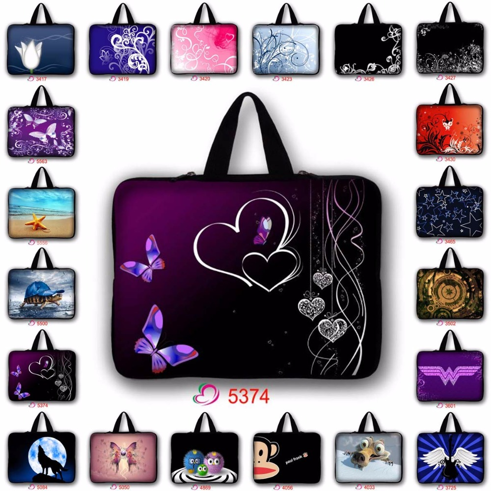 "waterproof 7'' 9.7'' 11.6"" 13'' 13.3"" 14"" 14.4"" 15'' 15.6"" 17"" 17.3'' laptop tablet bag laptop bag notebook sleeve case LB-5374"