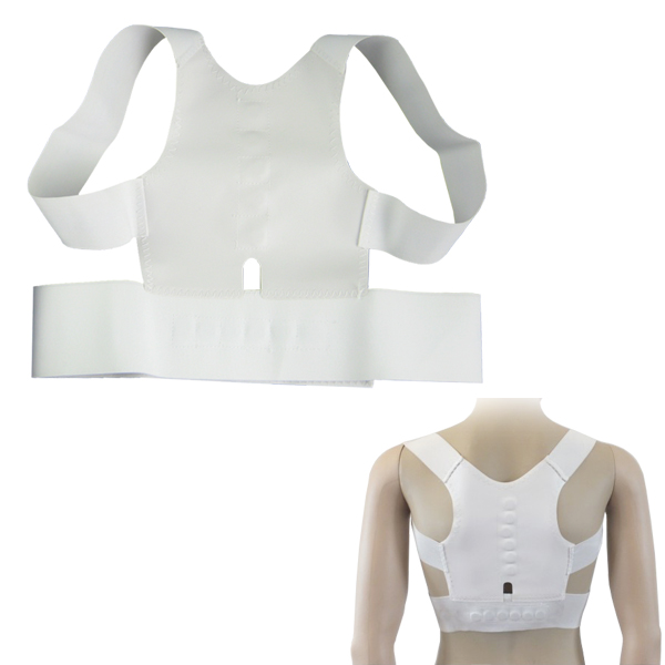 Trendy Magnetic Posture Back Shoulder Corrector Round Shoulders Chest Corrector Free Shipping(China (Mainland))