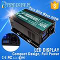 Off grid LED Display 500W full power 12v 220v Pure Sine Wave Solar Power inverter DC