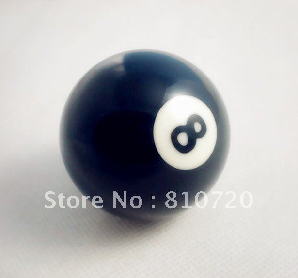 "Free shipping 1pcs NO.8 Pool snooker Billiard table Cue NO.8 ball 2-1/4"" 57.2MM(China (Mainland))"