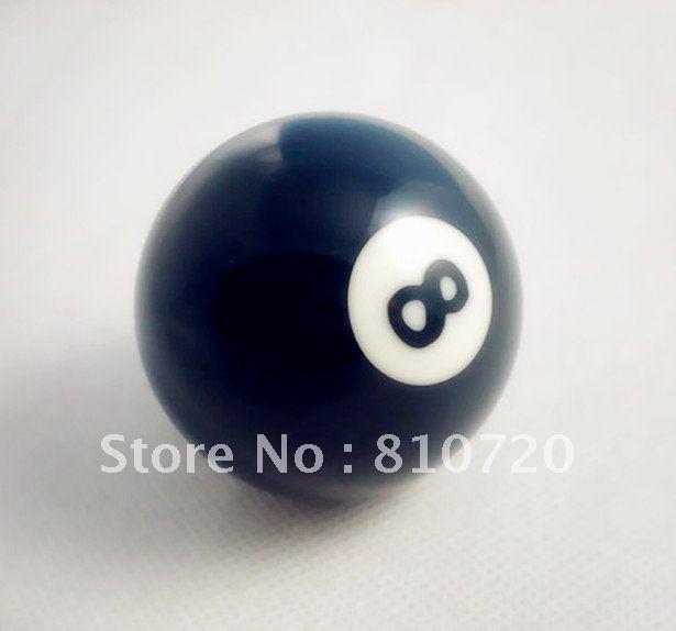 """Free shipping 1pcs NO.8 Pool snooker Billiard table Cue NO.8 ball 2-1/4"""" 57.2MM(China (Mainland))"""