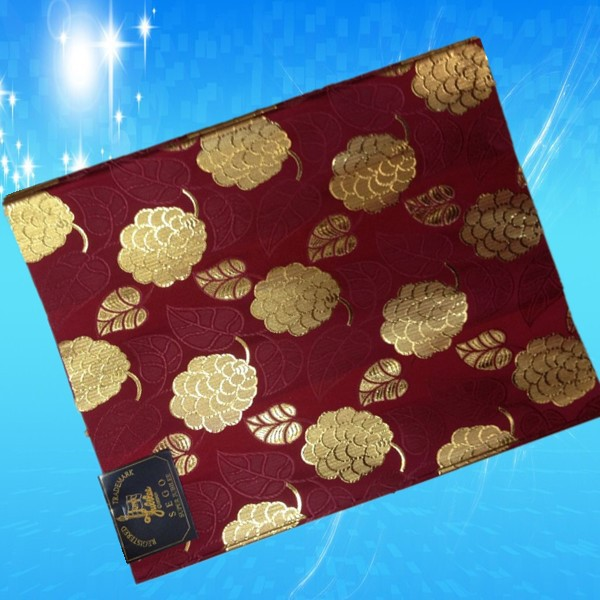 2015 new style fashion african scarf sego headtie wine+gold wholesales nigeria headtie!HE1-18(China (Mainland))