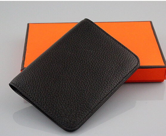 new 2015 4 color real leather Passport holder famous designer Id Card holder high quality 233(China (Mainland))