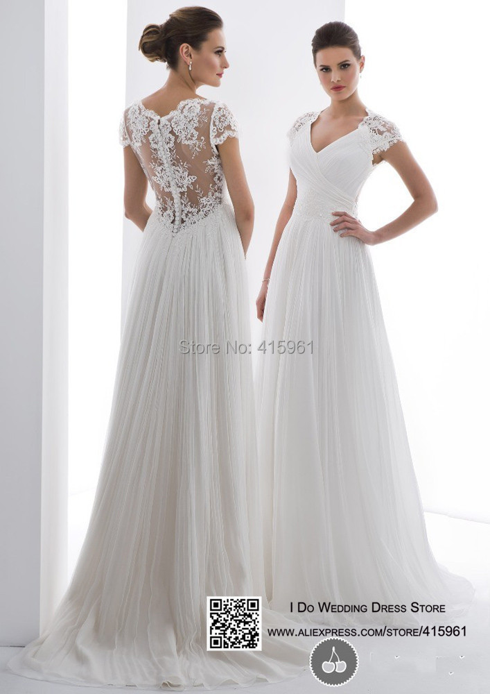 Cheap lace wedding dresses online bridesmaid dresses for Wedding dresses with sleeves cheap