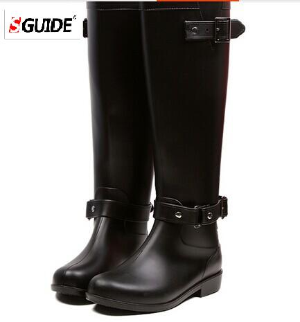 New arrival 2015 Women Motorcycle boots Rain Boots waterproof women wellies boots For Ladies Free Shipping<br><br>Aliexpress