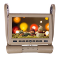 8 5 Inch LCD Armrest Monitor DVD Radio Player USB SD FM TFT Game Remote Control