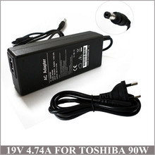19V 4.74A 90W AC Adapter Power Charger For Laptop Toshiba Satellite L855 L855D L870 L870D