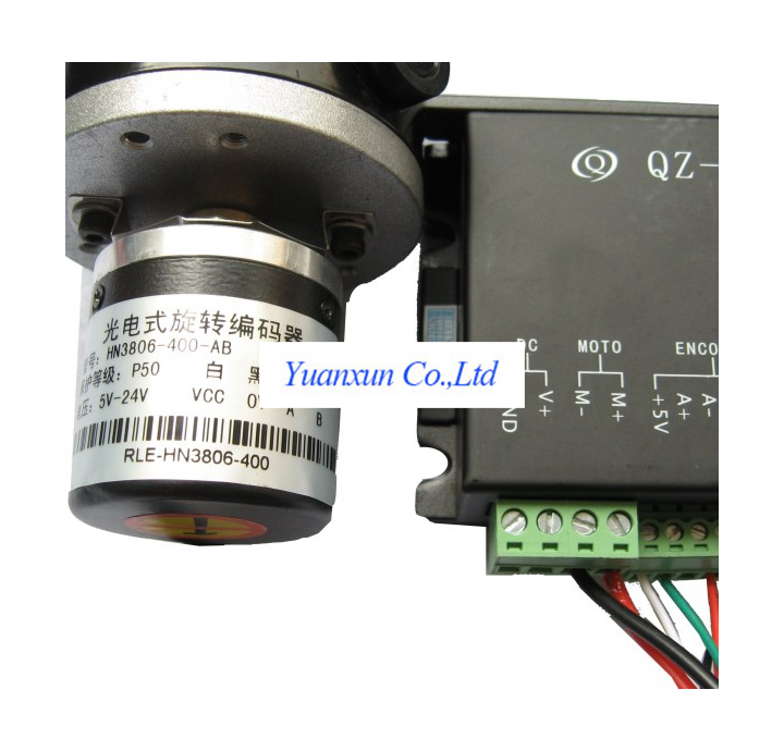 Set To Replace The Dc Motor 57 Stepper Motor With Encoder