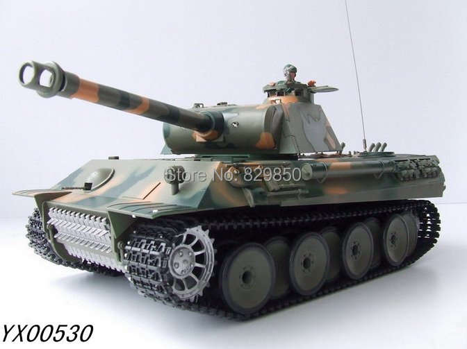 Free shipping 1/16 radio Remote Control tank German Panther Battle RC Tanks R/C RTR toys(China (Mainland))