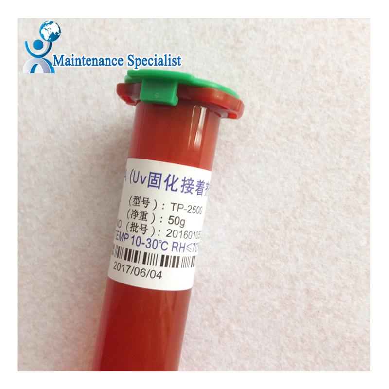 Tp-2500 50G UV Glue LOCA Liquid Optical Clear Adhesive for iPhone Samsung HTC Glass Repair(China (Mainland))
