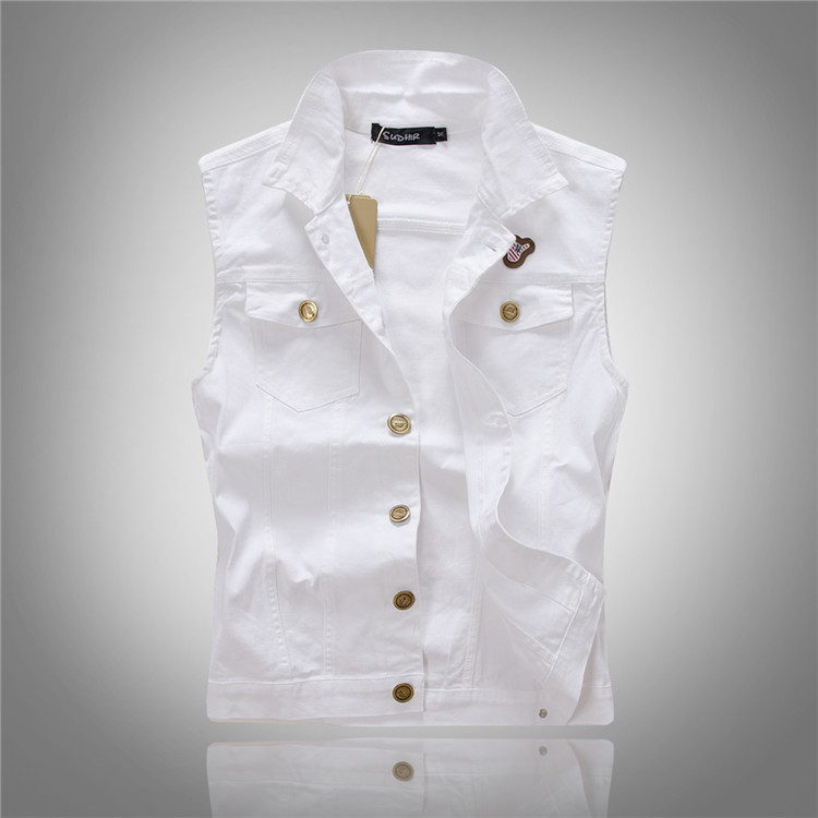 High Quality White Jeans Jacket for Men-Buy Cheap White Jeans ...