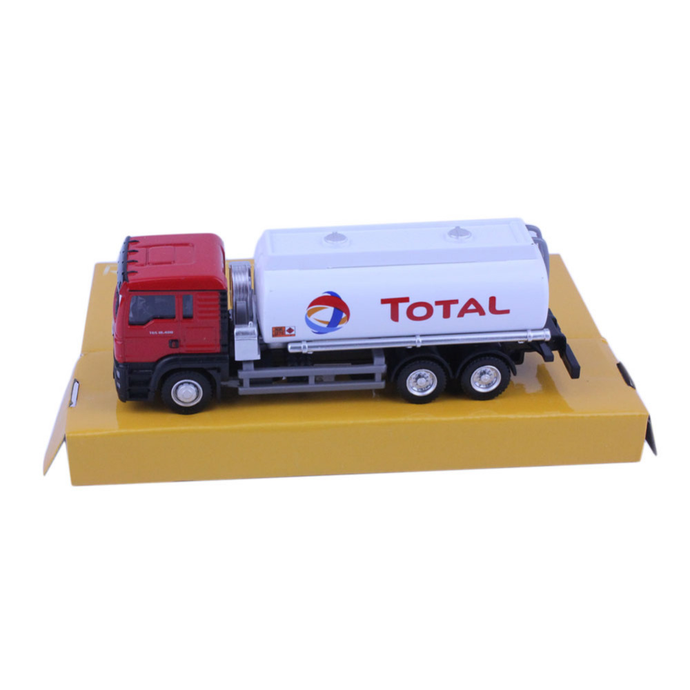 1pc High Quality RMZ City Man Oil Tanker Truck (TOTAL) 144027A 1/64 Diecast Vehicles Model Car Toys Friend Children Gift(China (Mainland))