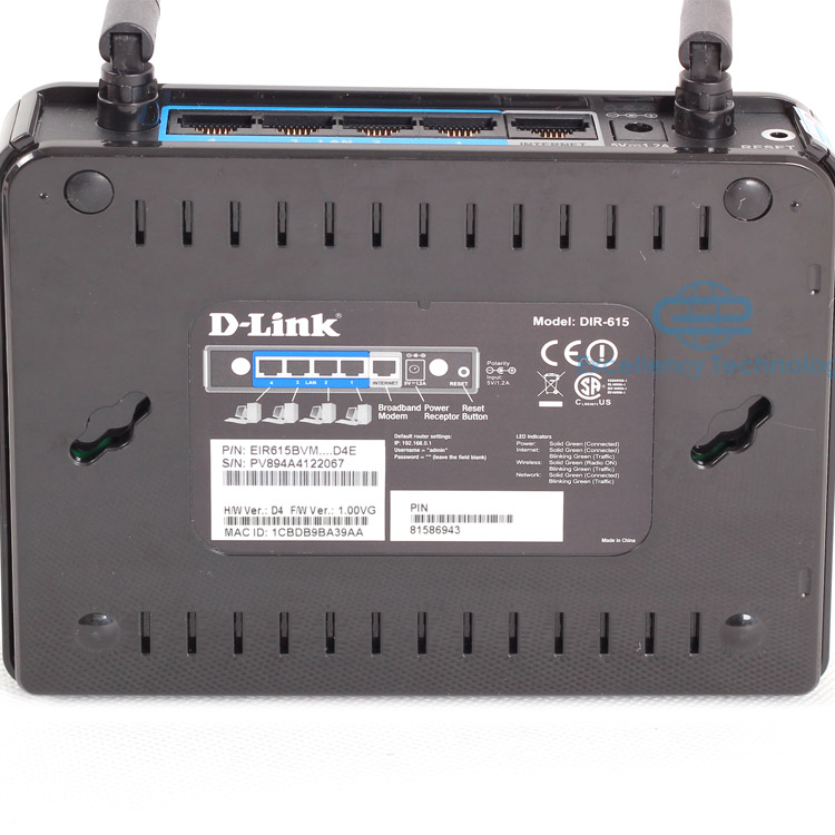 Double Antenna Router D-link Double Antenna 300m