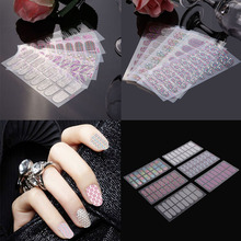 Creative Portable 3D Nail Art Stickers Nail Beauty Design DIY Crystal Nail Sticker Tips Water Decals Manicure Tool E#CH