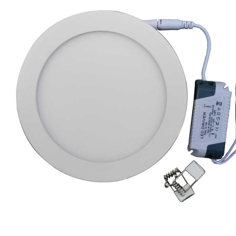 ultra thin design15w led recessed ceiling light dimmable