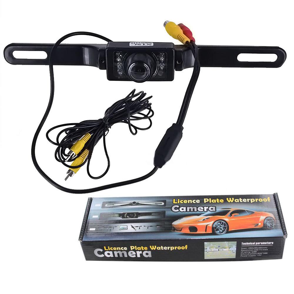 7 IR LEDs Backup Waterproof Parking Monitors CMOS Car Reverse Rear View Camera Night Vision Car RearView Camera(China (Mainland))