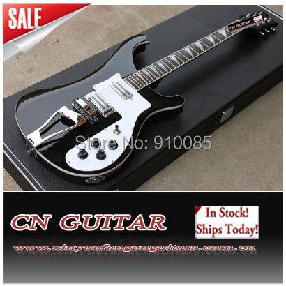 High Quality Electric Guitar 2 H-H Pickups w Tremolo Guitar(China (Mainland))