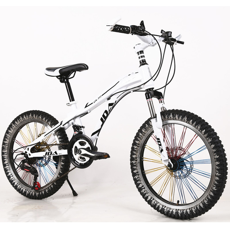 Newest 20 inch mountain bike 21 speed dual disc high carbon steel suspension bicycle for children adult(China (Mainland))
