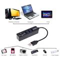VODOOL USB HUB Card Reader 2 0 3 Ports Card Reader High Speed Multi USB Splitter