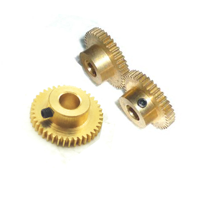 Tooth 0 5 module brass bosses precision 6 model for Small electric motor gears