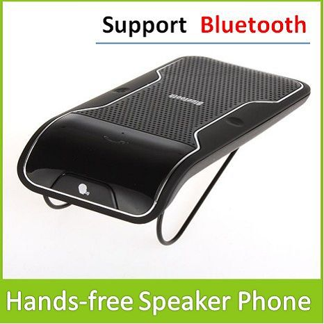 Hands Free SpeakerPhone Bluetooth Car Kit Can Working Blue tooth Enabled Devices Support Max 10M Wireless Distance - Long March Trade Co., Ltd. store