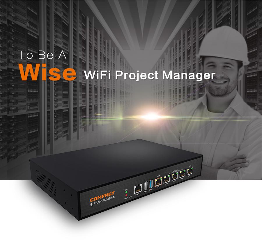 Cheap! Gigabit GBE AC gateway controller MT7621 Core Gigabit Gateway wifi project manager Router with 4*1000Mb WAN/LAN CF-AC100(China (Mainland))