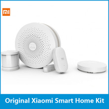 Original Xiaomi Smart Home Kit Gateway Door Window Sensor Human Body Sensor Wireless Switch Multifunctional Smart Devices Sets