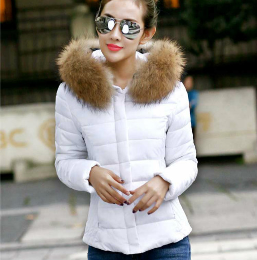 Купить Белую Куртку Зимнюю Женскую С Мехом