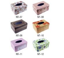 Fashion Simple Elegant Rctangle Europe Style Tin Tissue Box Holder for House & Car Bedding Set Creative Napkin Box(China (Mainland))