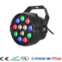 Buy Flat led par stage light/rgbw 12x3W disco party lights/laser dmx luz Dj effect controller/Dj Equipment projector/luces discoteca for $14.94 in AliExpress store