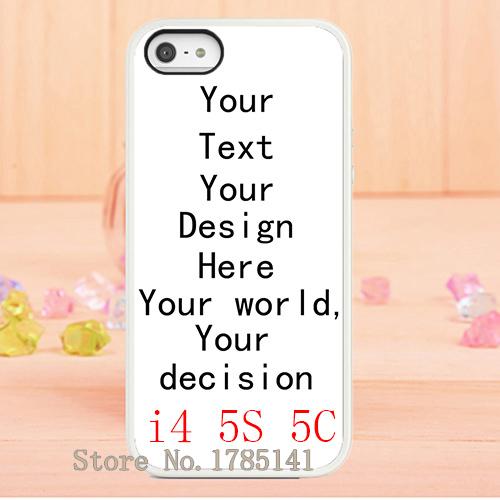 Горячие продажи 10 шт/много онлайн изготовление по индивидуальным заказам печать белая кожа жесткий чехол для iPhone 5 5s яблока 4 4G с 4С 5С оптом