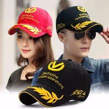 World Champion formula 1 Moto GP Schumacher Baseball cap snapback hat cap motorcycle cap racing Cap men(China (Mainland))