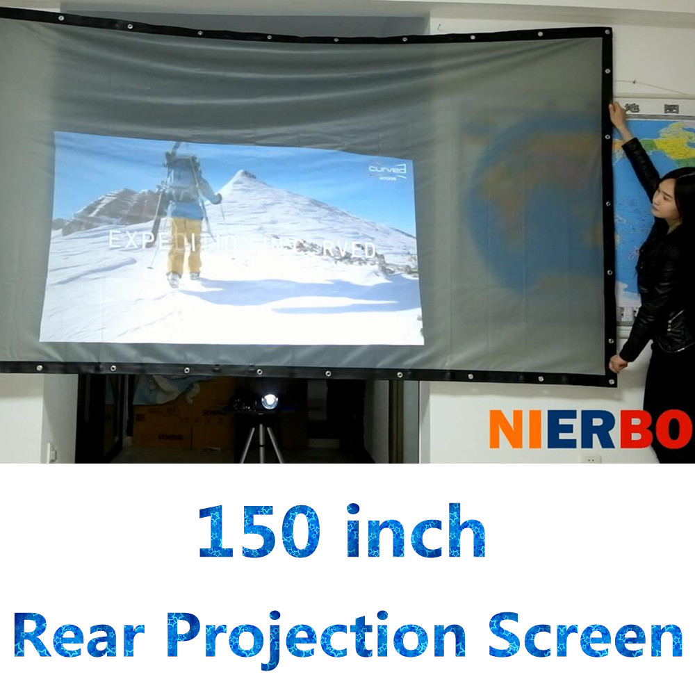 rear projection material Space constraints, projector location issues, or shadowing causing you projector screen blues rear projection screens can solve your problems learn more.