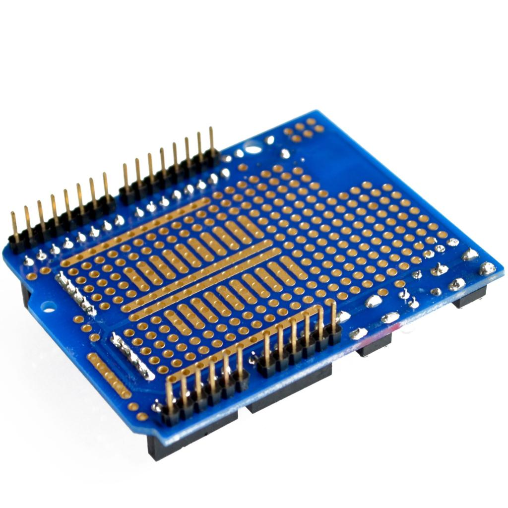 Uno proto shield prototype expansion board with mini