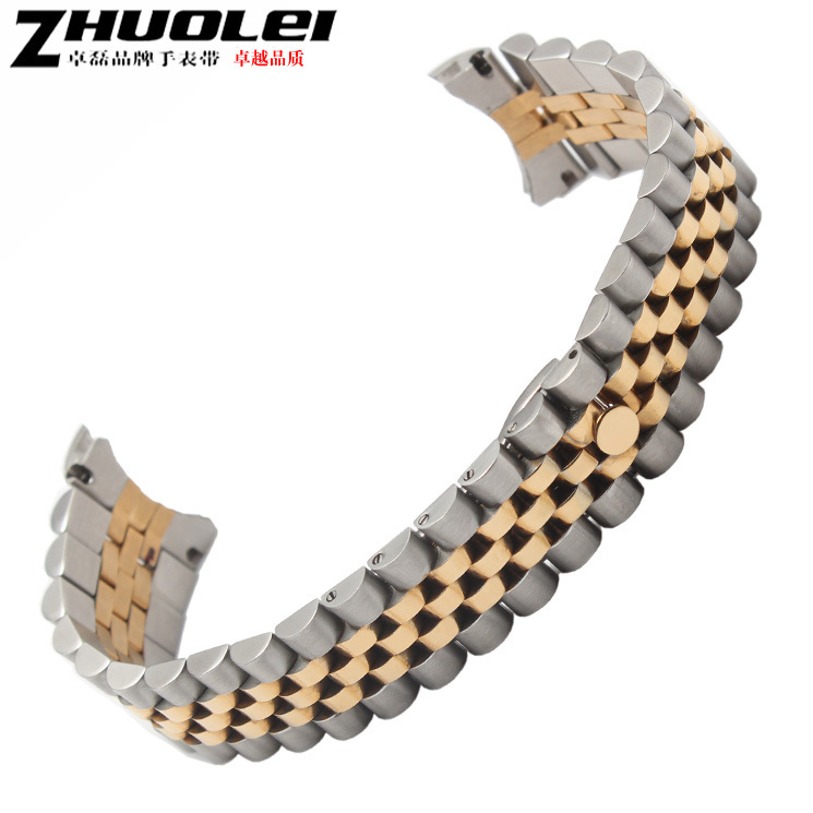 20mm stainless steel watch band Curved end Stainless steel Silver Watch Bands Bracelets <br><br>Aliexpress