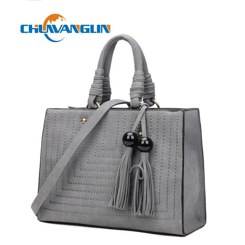 High quality fashion handbags large capacity tassel Bolsa pure color Messenger bag tide car suture shoulder bag lyz4132(China (Mainland))