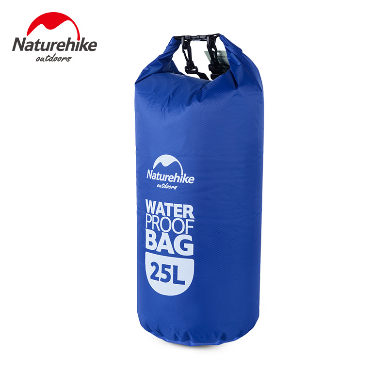 Naturehike Waterproof Dry Bag 25L Outdoor Swimming Dry Sack Storage Bags Men's Rafting Compression Bag Travel Kit Equipment(China (Mainland))