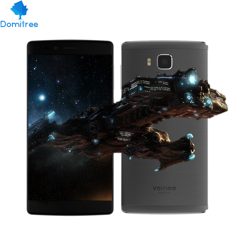"""In stock Deca Core 4GB RAM 32GB ROM 16MP Vernee Apollo Lite 4G LTE 5.5"""" MT6797 Android 6.0 smartphone touch id quick charge(China (Mainland))"""