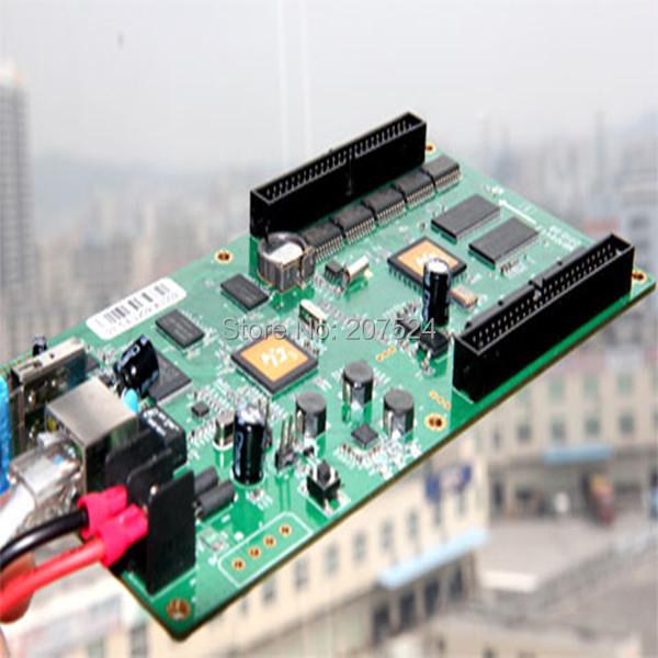 rgb video led display controller card asynchronous wifi,3g,internet HD-C3,no need sending card(China (Mainland))
