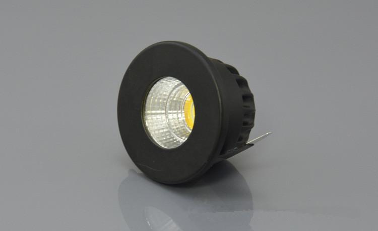 30pcs 3W LED Ceiling Lamp COB Led Recessed Downlight Mini Spot Jewelry Light White Shell Smallest(China (Mainland))