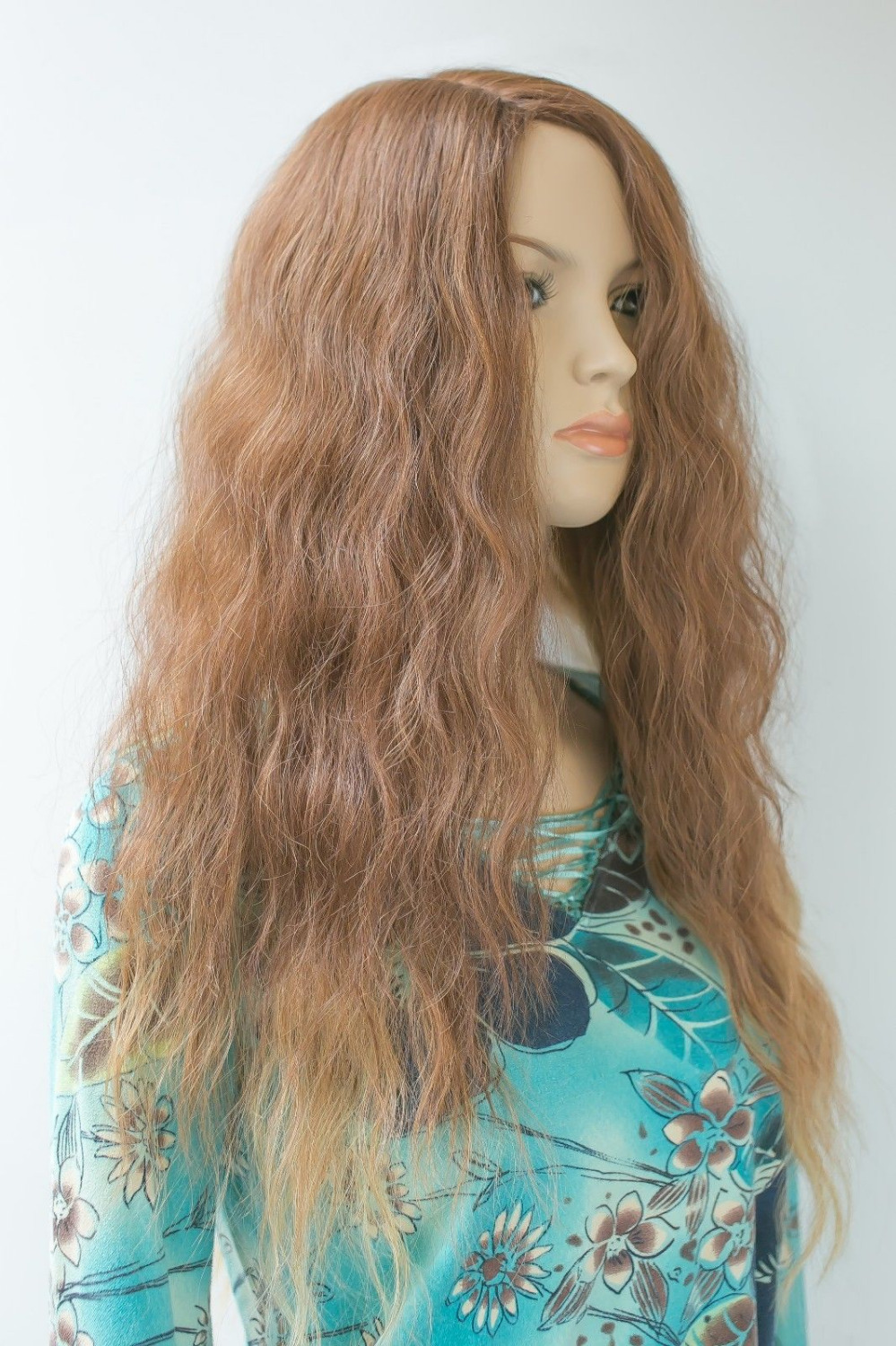 Фотография 0116P free shipping Express delivery to USA new high-end fashion female glamor no synthetic hair wig s1450