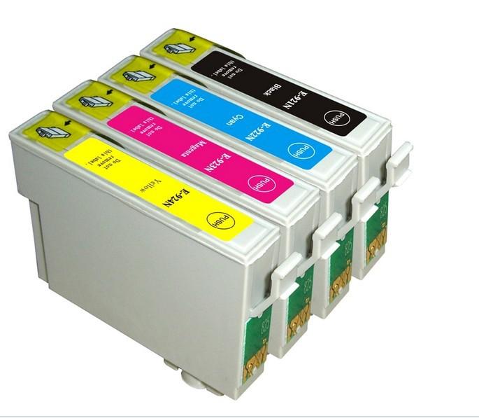92 92N T0921N-T0924N compatible ink cartridge for EPSON Stylus C91/CX4300/T27/T26/T27/TX106/TX109/TX117 printer